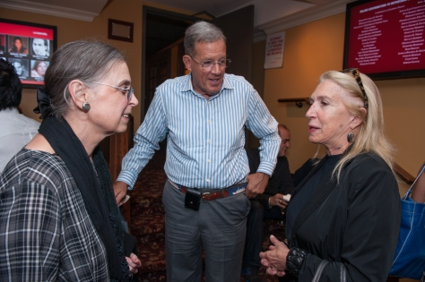 Sandra & Lawrence Small with Laurie Beckelman