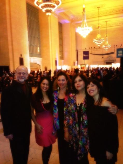 Musical Director Pablo Zinger, Gizelxanath, Virginia Herrera, Brenda Feliciano & Shadia Fairuz