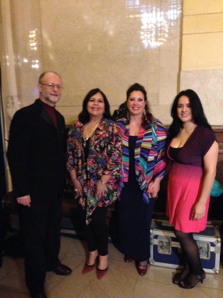 Pablo Zinger, Brenda Feliciano, Virginia Herrera, & Gizelxanath